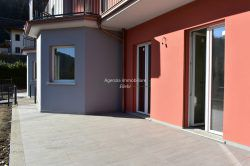 patio new building 3 rooms with garden for sale A class, Graglia Alto vergante Stresa real estate Ellebi