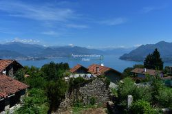 Rustic building for sale Stresa lake maggiore Magognino hill real estate