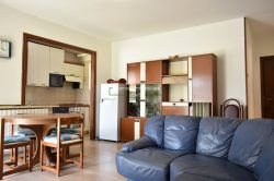 living two-room apartment with garden and garage in Stresa for sale real estate