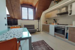 view attic level two room apartment near station of Stresa for sale real estate Ellebi