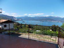 vista appartamento vista lago Brisino Stresa vendita Agenzia immobiliare Ellebi