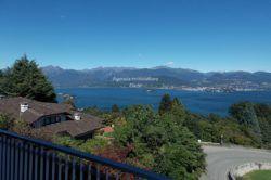 vista villa a vedasco di Stresa vita lago isole borromee vendita Agenzia Immobiliare Ellebi