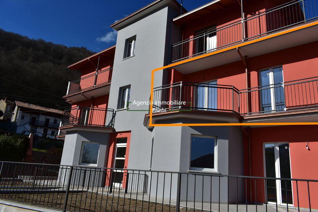 camera Trilocale di nuova costruzione in vendita Graglia Alto vergante agenzia immobiliare ellebi
