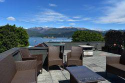 terrazzo Carciano mansarda vendita terrazzo vista lago Stresa agenzia