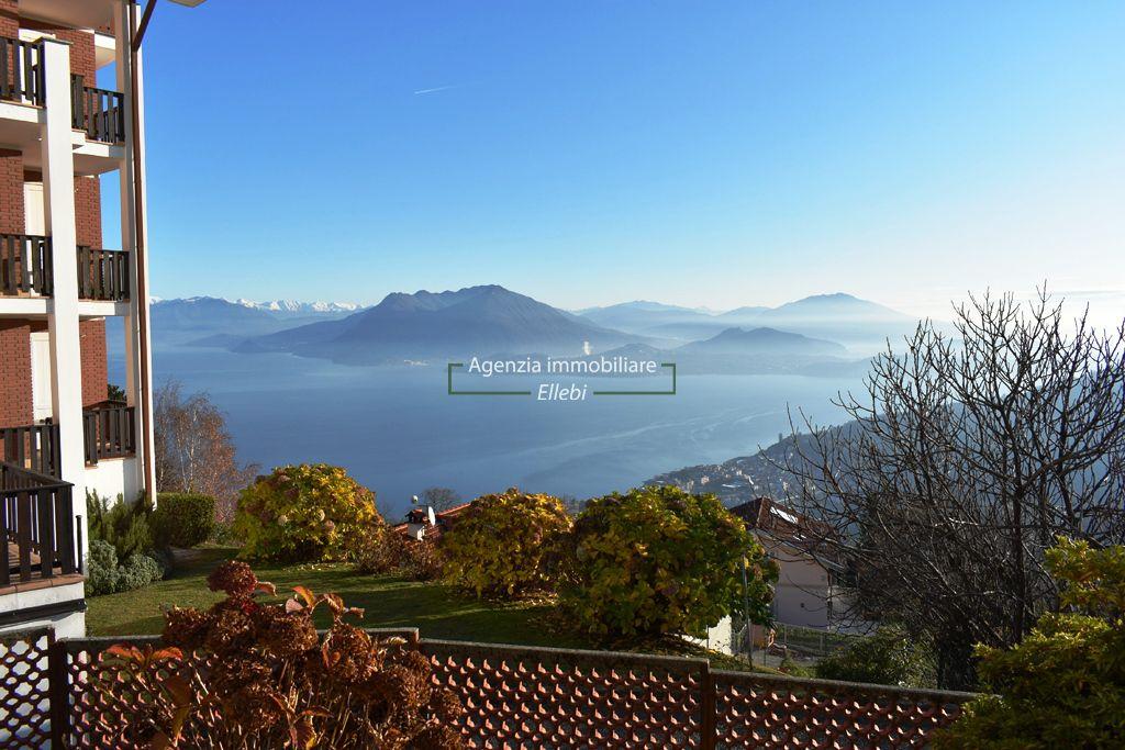 Stresa frazione Levo bilocale vista lago garage vendita agenzia immobiliare ellebi