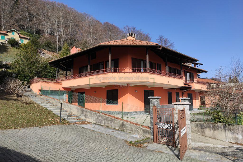 parcheggio bilocale in vendita a Gignese con giardino terrazzo autonomo agenzia immobiliare Ellebi